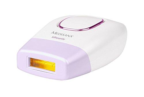 Medisana Depiladora IPL 800 Silhouette - Depiladora con 5 niveles de intensidad, autoapagado, 2 cartuchos de 50000 pulsos