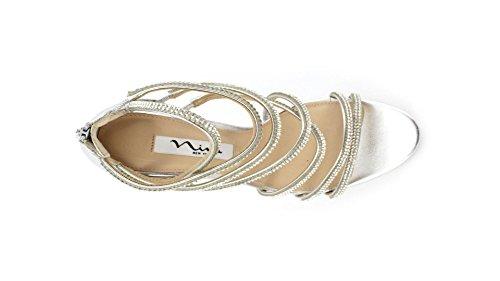 NINA , Chaussures de sport d'extérieur pour femme argent argent 37,5 EU Argent