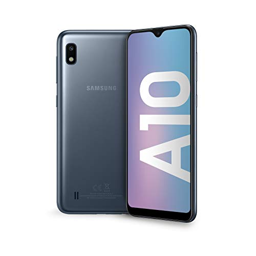 Samsung Galaxy A10 Display 6.2', 32 GB Espandibili, RAM 2 GB, Batteria 3400 mAh, 4G, Dual SIM Smartphone, Android 9 Pie, (2019)...