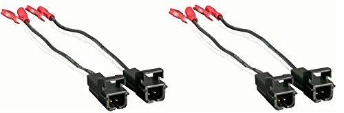 4568Lautsprecher Draht Adapter für ausgewählte General Motor Fahrzeuge–4Gesamt Adapter (Axess Electronics)