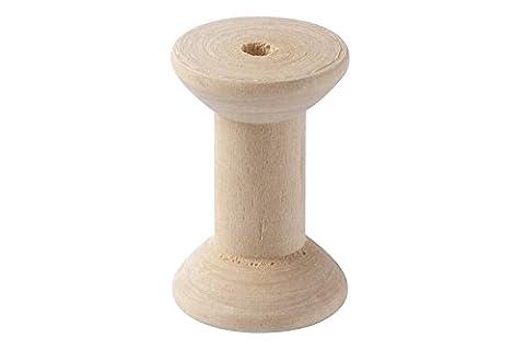 Bobine en bois (4cm - Paquet de 50)