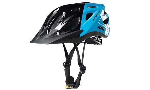 KTM Trekking Fahrrad Helm - Youth - Gr.51-56 - Schwarz-hellblau (8-012)