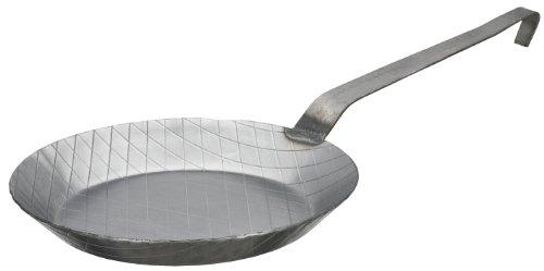 GSW 860574 GastroTraditionell Eisen geschmiedet Pfanne - 32cm - Eisen Geschmiedet Eisen