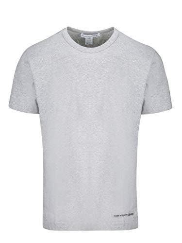 Comme des Garçons Shirt Herren W271112grey Grau Baumwolle T-Shirt -