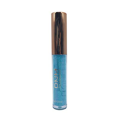 AMhomely Polarisierte Lipgloss-Meerjungfrau bunter perlglanzender Lipgloss - Wasserdichte langlebige Flüssigkeit Polarize Light Lipstick Makeup Lip Gloss Lip (F) -
