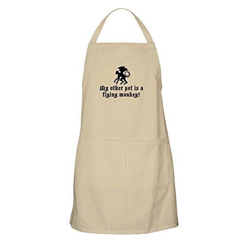CafePress–My anderen Pet ist eine Flying Monkey Grillschürze–Küche Schürze mit Taschen, Grillen Schürze, Backen Schürze khaki (Attitude-t-shirt Cool)