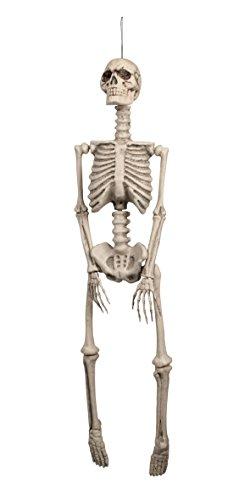 Skelett, Dekorationen, circa 92 cm (Lebensgroße Halloween-dekoration)
