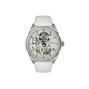 Hamilton Skeleton Lady Auto Blanco Reloj H32405811