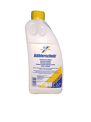 Antigelo Giallo, Protettivo Radiatori e Anticorrosione, Concentrato Cartechnic 1,5 Litri