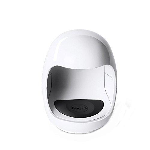 LED Nageltrockner Mini USB UV Nagel Gel Aushärtungslampe Licht Nagelgelpoliermittel Trockner Nail Art Maschine Tragbarer UV Nagellampe Geeignet für alle Gel intelligenter Maniküre Werkzeug (Weiß )
