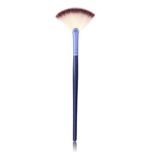 Ulable ventilateur en forme de brosse de maquillage du visage Fond de teint Beauté Outil de soins de la peau Cosmétique Brosse