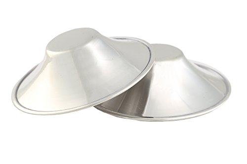 Stillhütchen aus Silber SCHUTZ EMPFINDLICHER BRUSTWARZEN RHAGADEN Brusthütchen SILVER SHELL