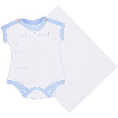 nd Umschläge 12/pkg-Boy Baby Dusche, andere, Mehrfarbig ()