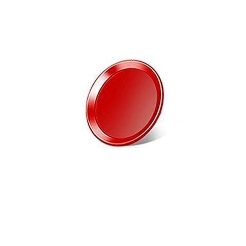 Youji® 5 PCS RED Home Button Sticker pour iPhone 7 iPhone 7 Plus iPhone 6 iphone 6 Plus Support Identification des empreintes digitales Touch ID
