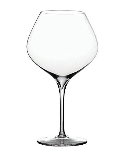 Peugeot Ensemble de 4 verres pour vins de Bourgogne Esprit Pino, Verre, Transparent 18cm (250171)