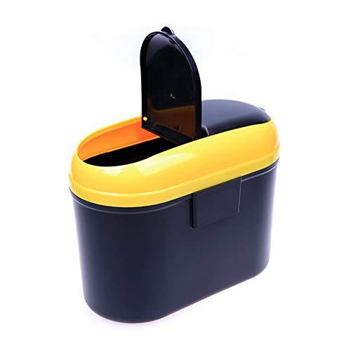 Preisvergleich Produktbild FUVOYA Pkw-Steck Can Mini Auto Auto Vehicle Müllabfuhr mit Doppel-Abdeck-Trash Mülltonne