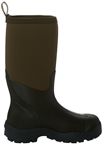 Muck Boots Derwent II, Bottes et Bottines de Pluie Mixte Adulte, Gris, 30 EU Marron (Moss)