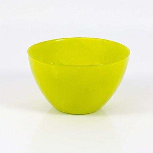 Lot 3 x Coupelle décorative / Coupelle apéritif en verre DORI, vert clair, 9 cm, Ø 17 cm - 3 pcs Coupelle à tapas / Coupelle déco - INNA Glas