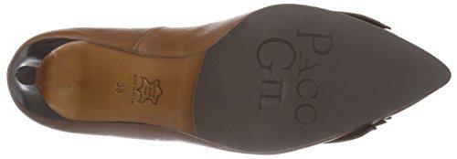 Paco Gil - P2896, Scarpe col tacco Donna Marrone (Braun (York))