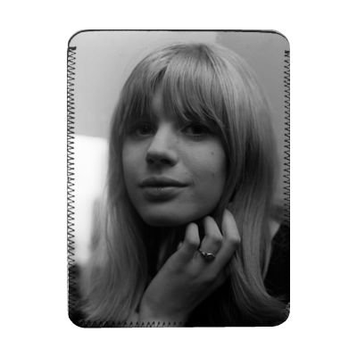 Price comparison product image Marianne Faithfull - iPad Cover (Protective Sleeve) - Art247 - IPads 1 And 2