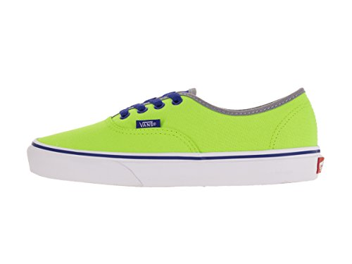 Vans Unisex-Erwachsene Authentic Low-Top (brite) neon green/blue
