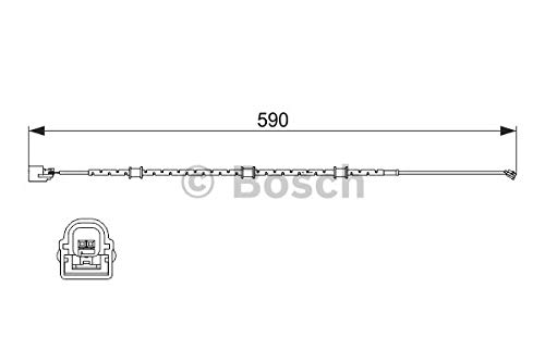 Bosch 1987474513Sensore Usura Pastiglie Freno