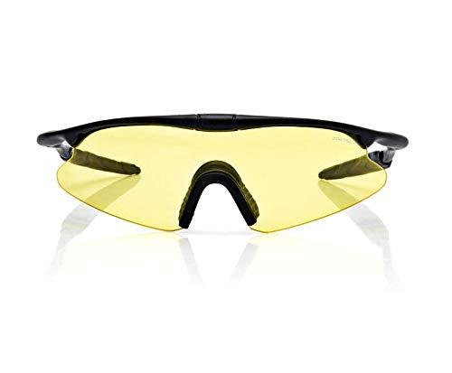 Yiph-Sunglass Sonnenbrillen Mode Outdoor-Sport Mann Frau Radfahren Schutzbrille Brille Sonnenbrille Anti-Auswirkungen Taktische Wind Sand (Color : Yellow)