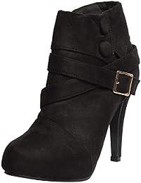Klaur Melbourne Women's Suede 4 Inch Heel Shoes