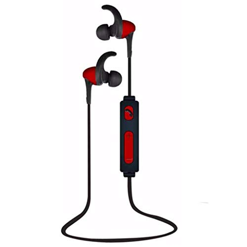 LRWEY Bluetooth Headset, Bluetooth-Ohrbügel Drahtloses Sport-Joggen Stereo Headset Kopfhörer, für iPhone, iPad, Samsung, Huawei,Tablet usw