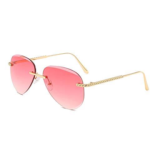 LAEMILIA Herren Sonnenbrille Herren Damen UV400 Schutz Rot