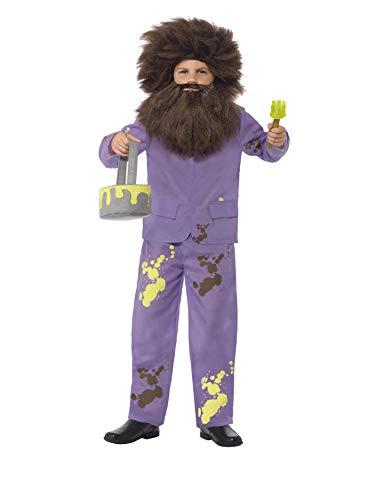Kostüm Dahl Verkleiden Roald - SMIFFY 'S Kinder Offizielle Roald Dahl Mr. Twit Kostüm (mittel)