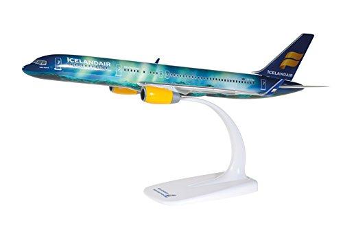 Herpa 610735-icelandair Boeing 757-200Hekla Aurora, Aereo, Multicolore Blu