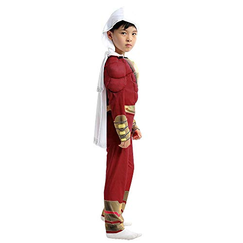 Lydia's Anime Cosplay Kleidung Shazam Kind Cosplay Kostüm Magic Captain 3D Digitaldruck Enge Weihnachten Halloween Kostüm M