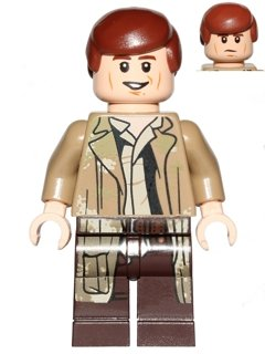 Lego Star Wars Han Solo (Endor Outfit) Neu New aus 75094