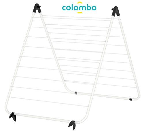 Colombo stendibiancheria per vasca da bagno, bianco, 10m