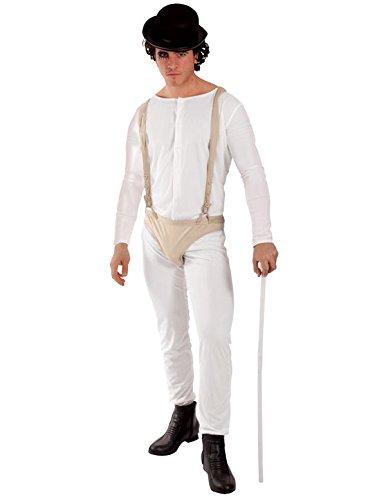 Straffällige Kostüm für Herren Mottoparty Halloween Verkleidung (Uhrwerk Kostüme)