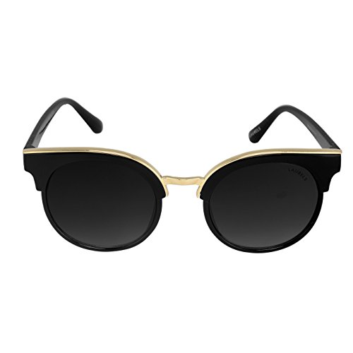 Laurels Whitney Black Over-sized Women Sunglass- LS-WTY-III-020602