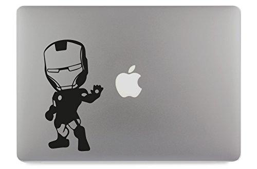 Macbook Iron Man Aufkleber (Ironman Klein Apple MacBook Air Pro Aufkleber Skin Decal Sticker Vinyl (13