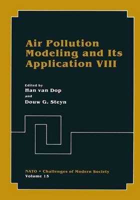 [(Air Pollution Modeling and its Application VIII)] [Edited by H. Van Dop ] published on (November, 2012)