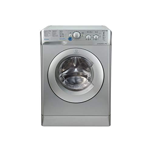 INDESIT BWC61452S Innex 6kg 1400rpm Freestanding Washing Machine Silver