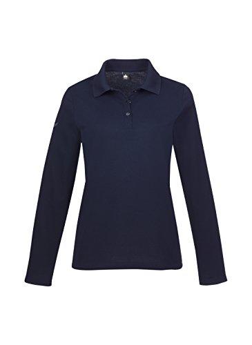 Trigema Damen Poloshirt 5216531 Navy