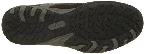 GEKA Herren Pueblo V Sneaker Schwarz (Schwarz/Grau/Rot)
