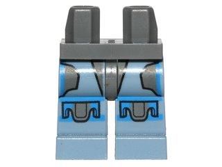 LEGO Star Wars - 1 Bein / Hose für Minifigur Pre Vizsla