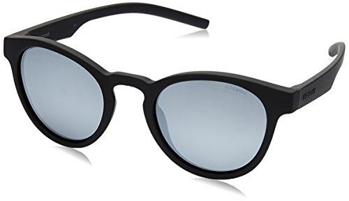 Polaroid Mirrored Round Women's Sunglasses - (PLD 7021/S 807 49EX|49|Silver Color) image