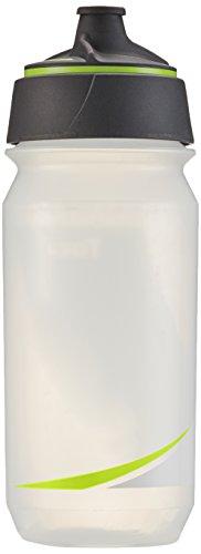 Tacx Trinkflasche Shanti Twist 500 ml mit Membranverschluß Colour, Blau Transparent/Leuchtgelb