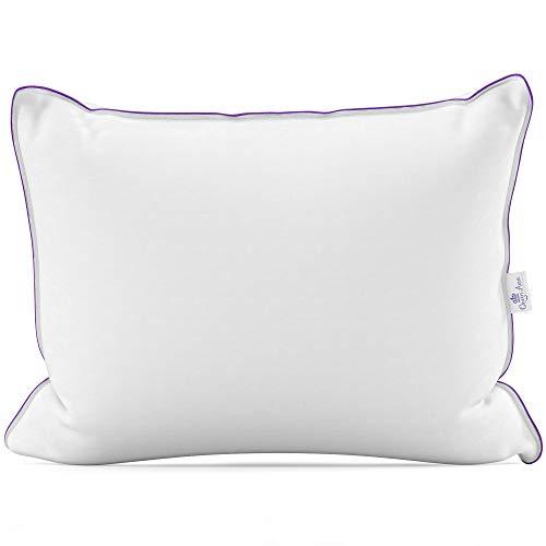 Comfort Company Support (Queen Anne Duchess Luxuriöses Kissen aus französischer Gänsedaunen und Federmischung - Ultra Comfort Support-Hotel-Kollektion King Medium weiß)