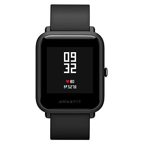 Amazfit Bip Huami SmartWatch Bit mit GPS, Pulsmesser, Fitness Tracker IP68 Wasserdicht, 45 Tage Standby International Version