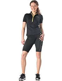 PURE LIME Evolution Bike Shorts short panatalon court sport fitness noir