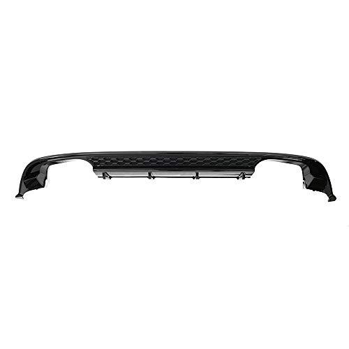 Heckdiffusor Tuning Diffusor Doppelrohr links/rechts schwarz, nur Facelift ab Modelljahr 2017, nur Limousine/Schrägheck