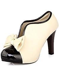 LATH.PIN - Zapatos con Tacon Alto, Zapatos Novia Mujer, Moda Zapatillas